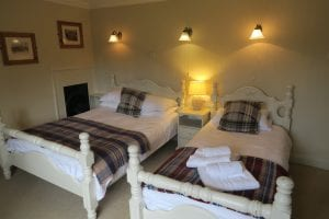 Rooms at The Helyar Arms