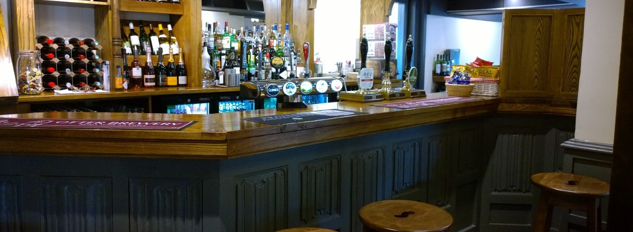The Helyar Arms gallery - bar area